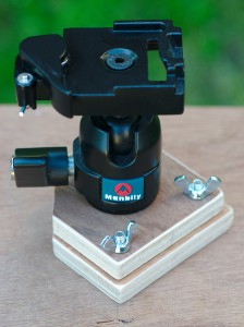 Tripod head mounting