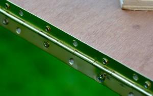 Primary panel hinge