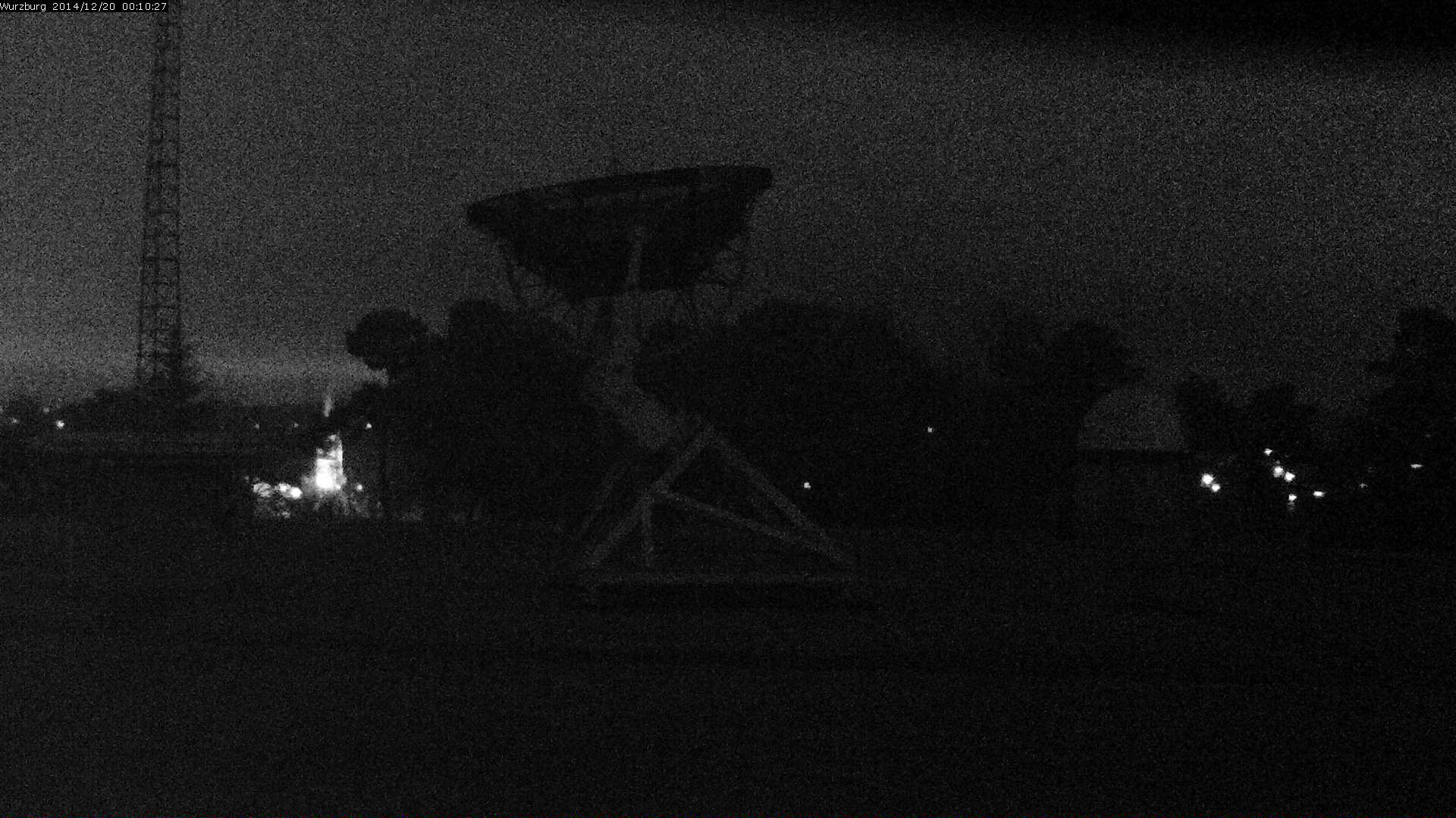 Wurburg Radio Telescope single image